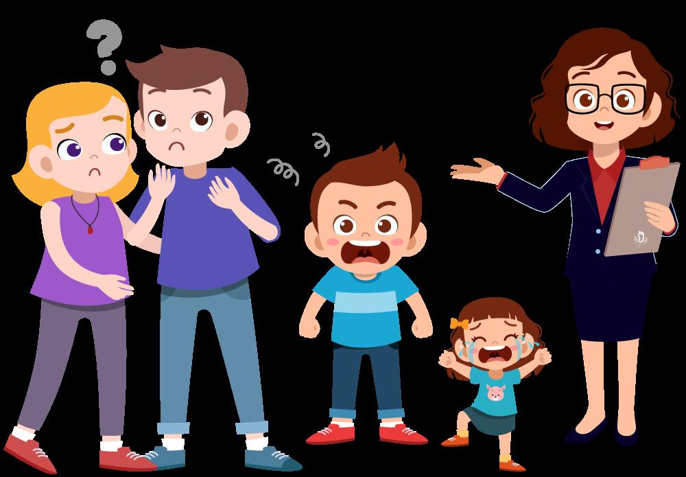 Sostegno psicologico per bambini, adolescenti e famiglie